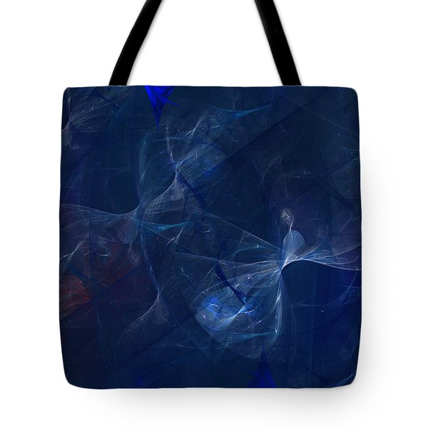 Tote Bag featuring the digital art Subjective Character Of Experience by Jeff Iverson