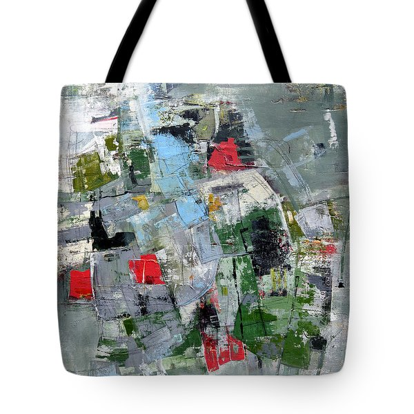 Tote Bag featuring the painting Sublet by Katie Black