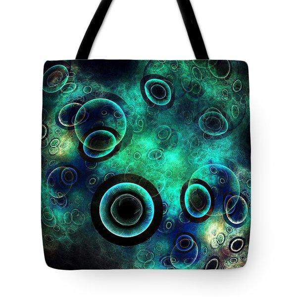 Subspace Continuum Tote Bag by Anastasiya Malakhova