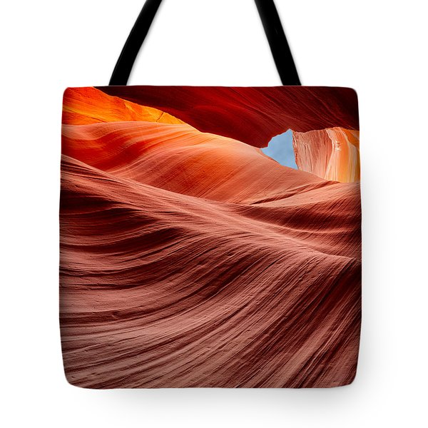 Subterranean Waves Tote Bag