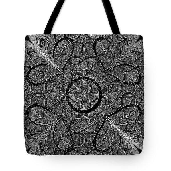 Subtle Message Tote Bag by Anastasiya Malakhova