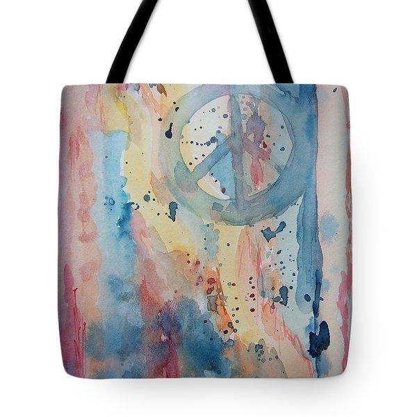 Subtle Peace Tote Bag