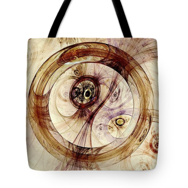 Subtle Ring Tote Bag by Anastasiya Malakhova
