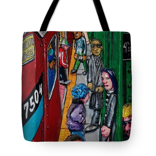Subway 1 Tote Bag by Rob Hans