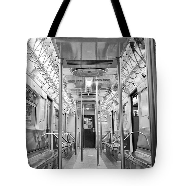 New York City - Subway Car Tote Bag