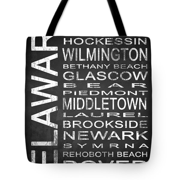 Subway Delaware State 1 Tote Bag