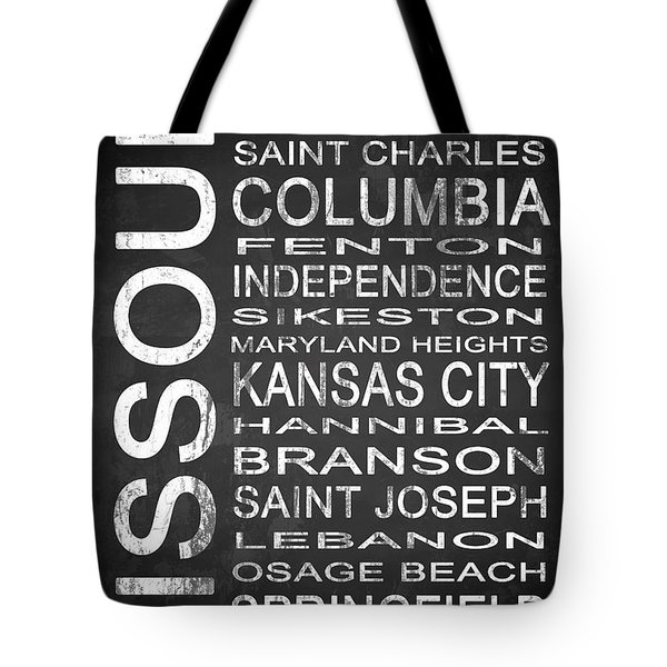 Subway Missouri State 1 Tote Bag