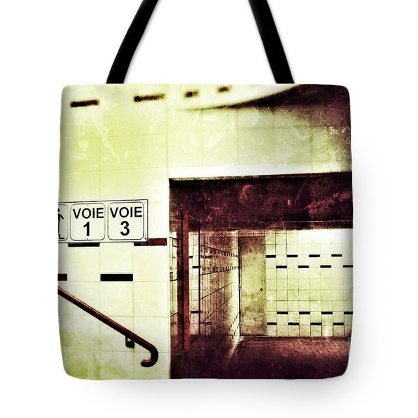 Subway  Tote Bag