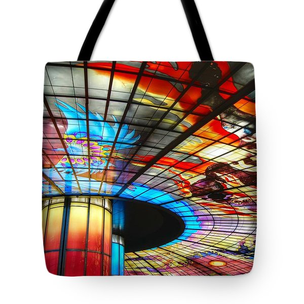 Subway Station Ceiling  Tote Bag