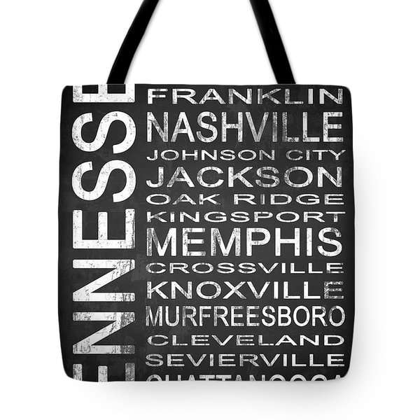 Subway Tennessee State 1 Tote Bag