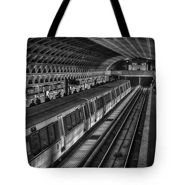 Subway Train Tote Bag