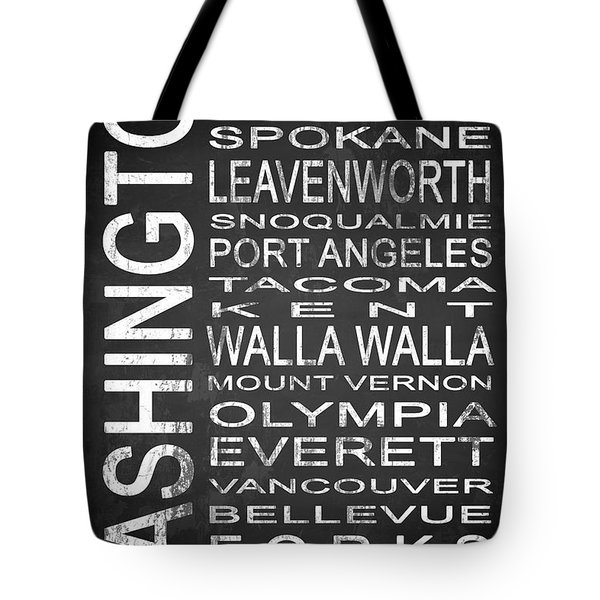 Subway Washington State 1 Tote Bag