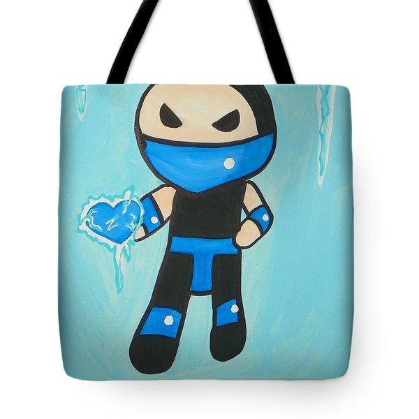 Subzero Frozen Heart Tote Bag