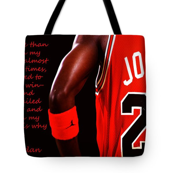 Success Quote 1 Tote Bag