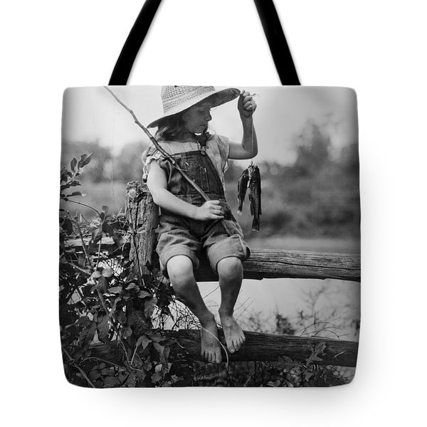Successful Day Of Fishing  1919 Tote Bag by Daniel Hagerman