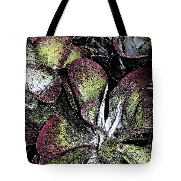 Succulent At Backbone Valley Nursery Tote Bag by Greg Reed