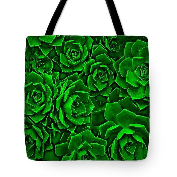 Succulent Green Tote Bag