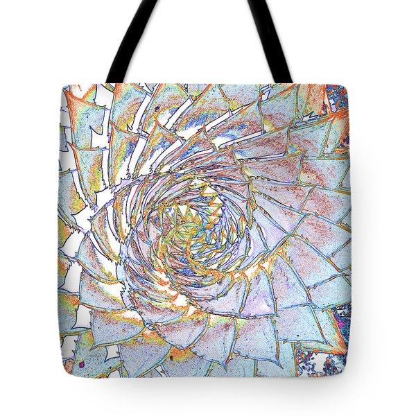 Succulent Spiral No.1 Tote Bag