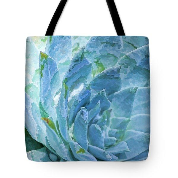 Succulent Swirl Tote Bag