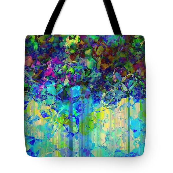 Sudden Rain And My Blues Tote Bag
