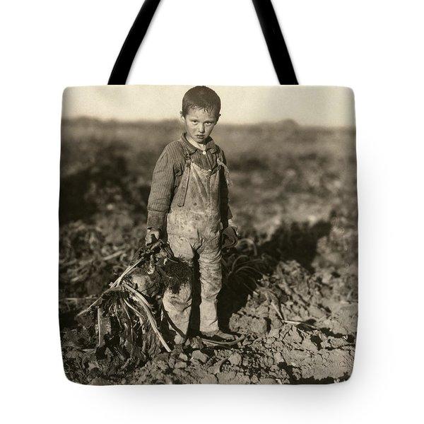 Sugar Beet Worker, 1915 Tote Bag