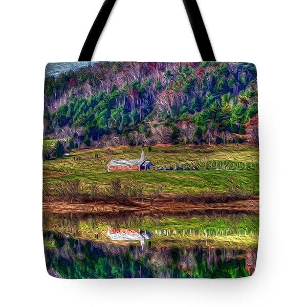 Sugar Grove Reflection Tote Bag