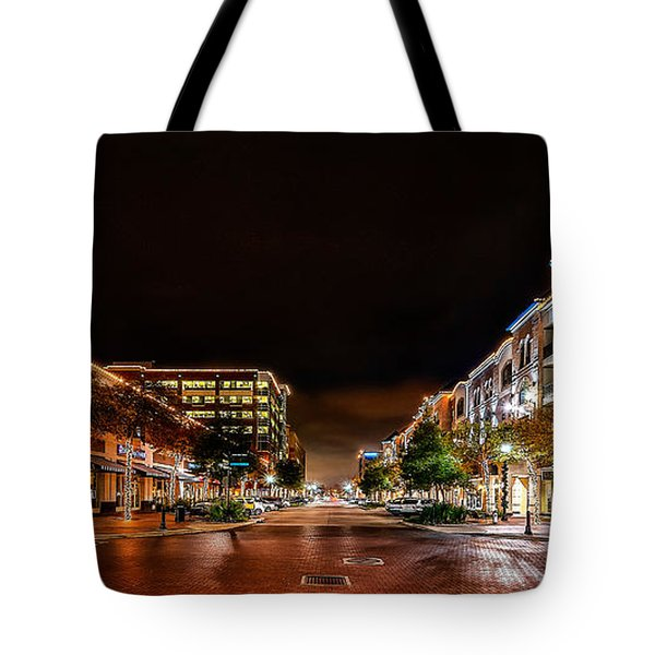 Sugar Land Town Square Tote Bag
