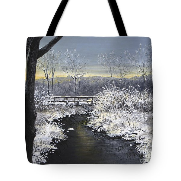 Sugared Sunrise Tote Bag