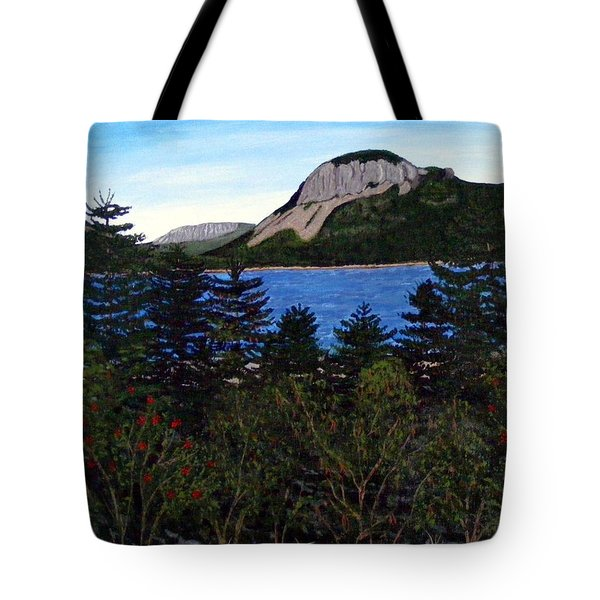 Sugarloaf Hill Tote Bag by Barbara Griffin