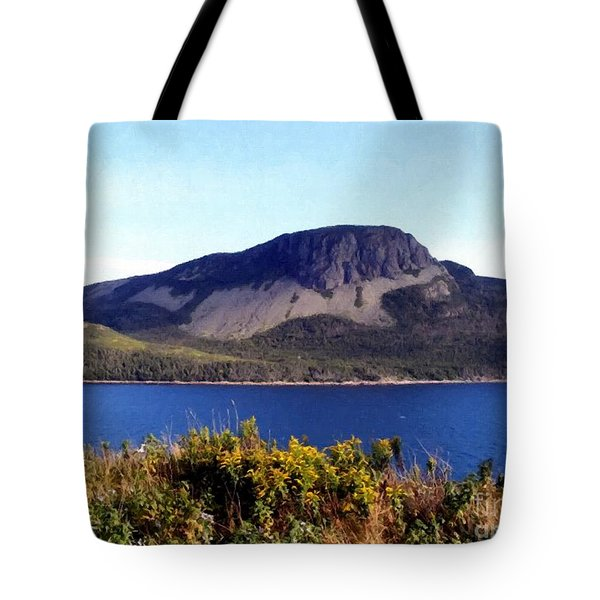 Sugarloaf Hill In Summer Tote Bag by Barbara Griffin