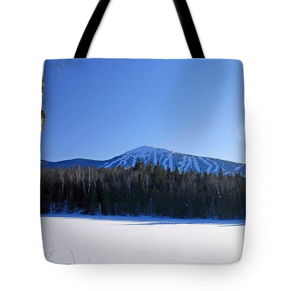 Sugarloaf Usa Tote Bag by Alana Ranney