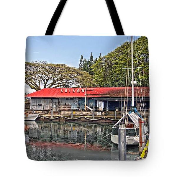 Suisan Fish Market Tote Bag