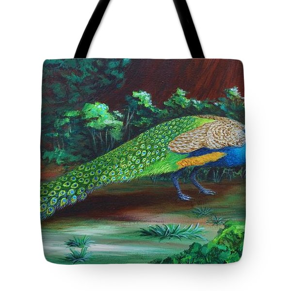 Suitors - Strolling Tote Bag by Katherine Young-Beck