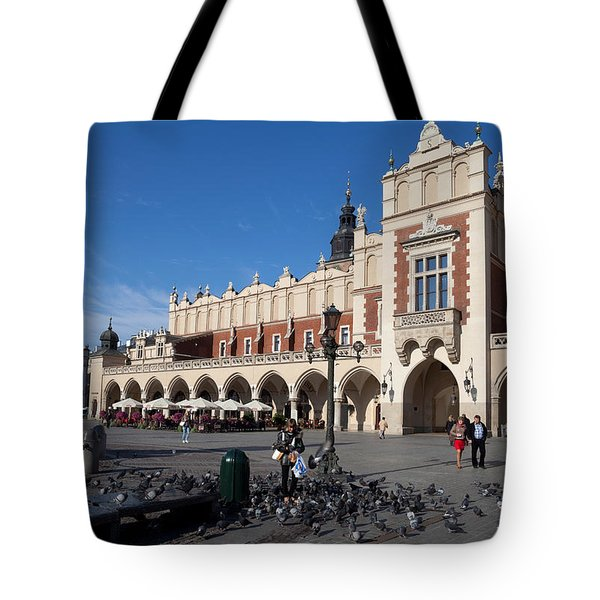 Sukiennice, The Renaisssance Cloth Tote Bag by Panoramic Images