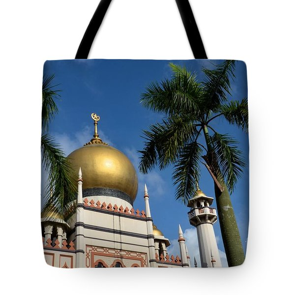 Sultan Masjid Mosque Singapore Tote Bag