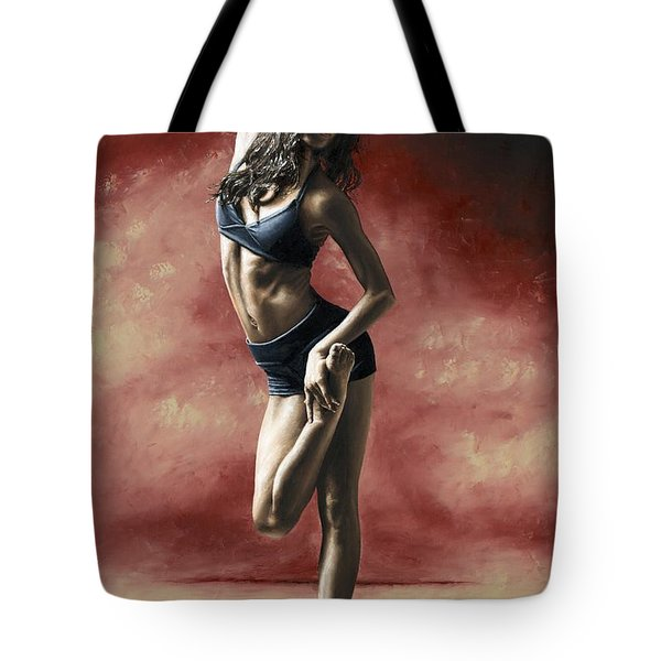 Sultry Dancer Tote Bag by Richard Young