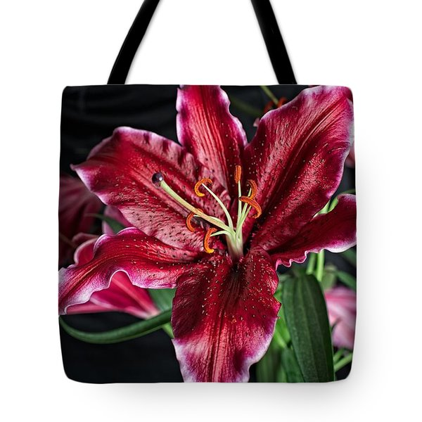 Sumatran Lily Tote Bag by Dave Files