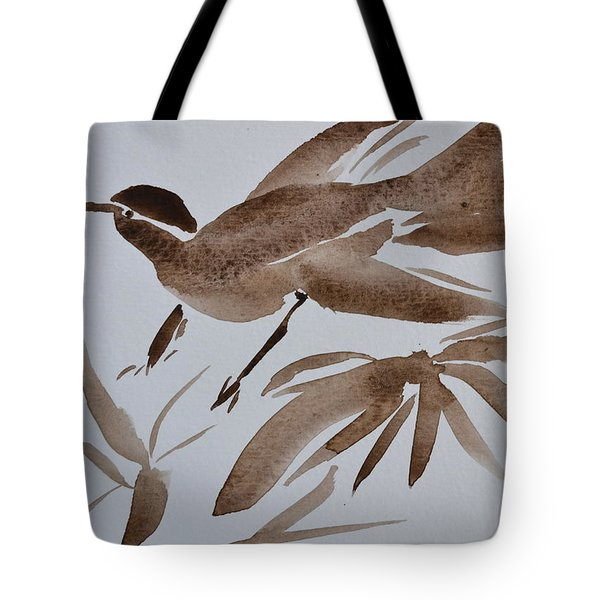 Sumi Bird Tote Bag