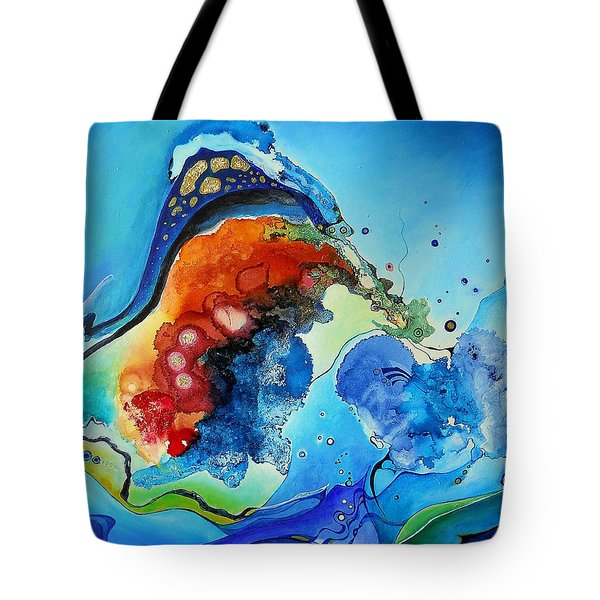 Summer - A Hot Day At The Beach Tote Bag by Wolfgang Schweizer