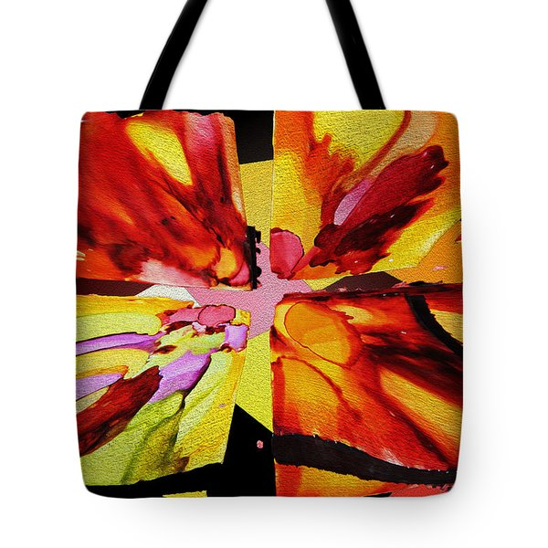 Summer Abstract Tote Bag by Kathy Bassett