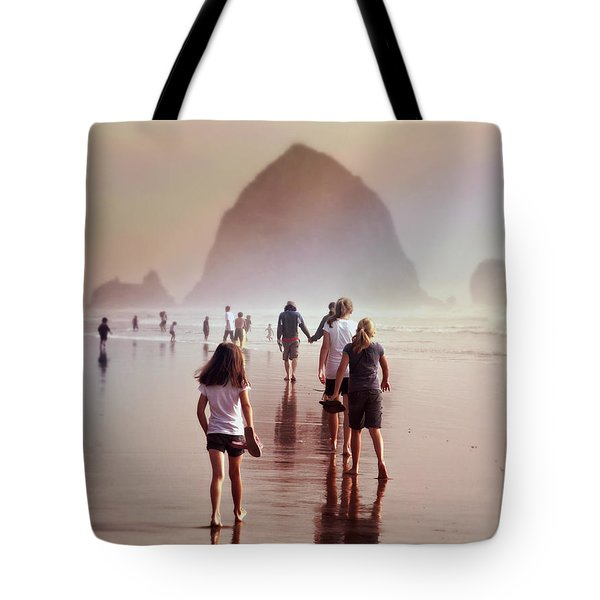 Summer At The Seashore  Tote Bag