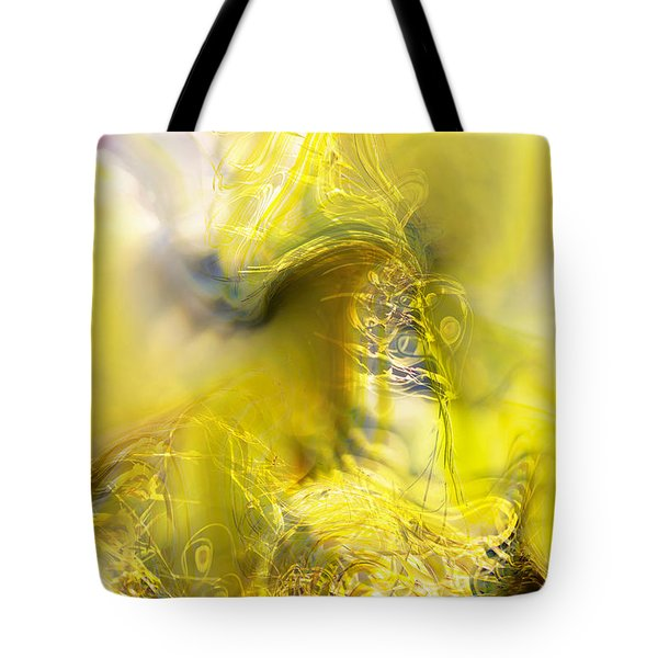 Tote Bag featuring the digital art Summer Barley by Richard Thomas