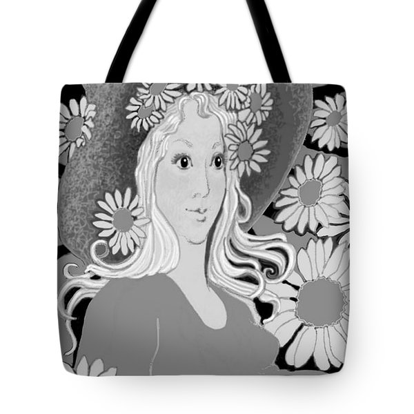 Tote Bag featuring the digital art Summer by Carol Jacobs