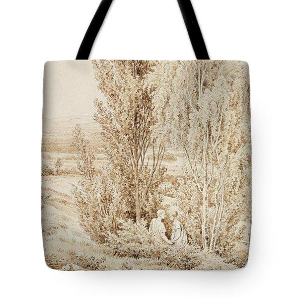 Summer Tote Bag by Caspar David Friedrich