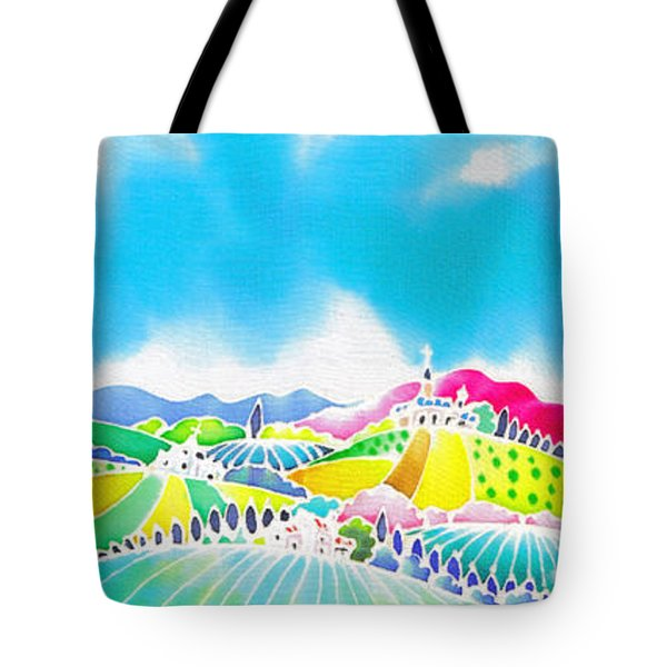 Summer Colors Tote Bag