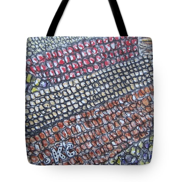 Summer Corn Tote Bag by Kathy Marrs Chandler