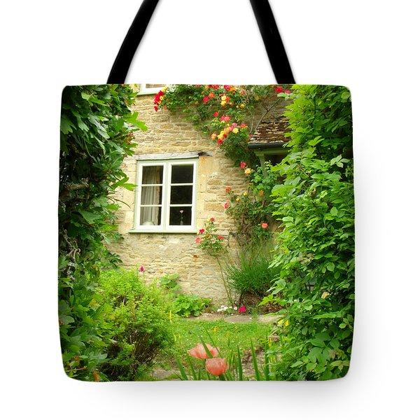 Summer Cottage Tote Bag