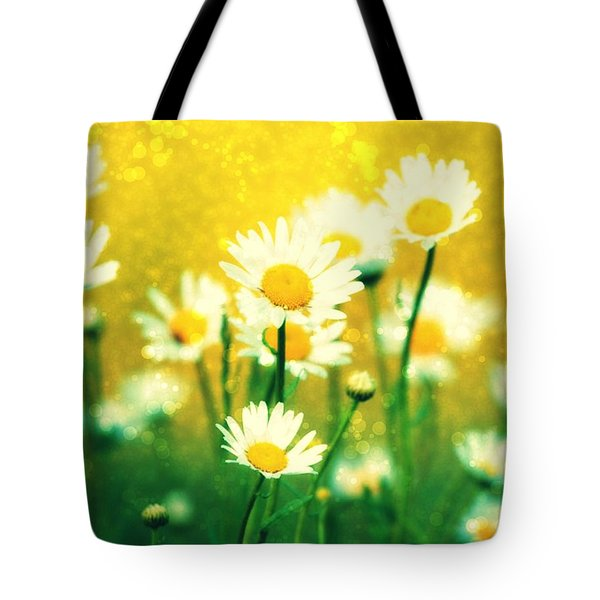Summer Daisy Tote Bag