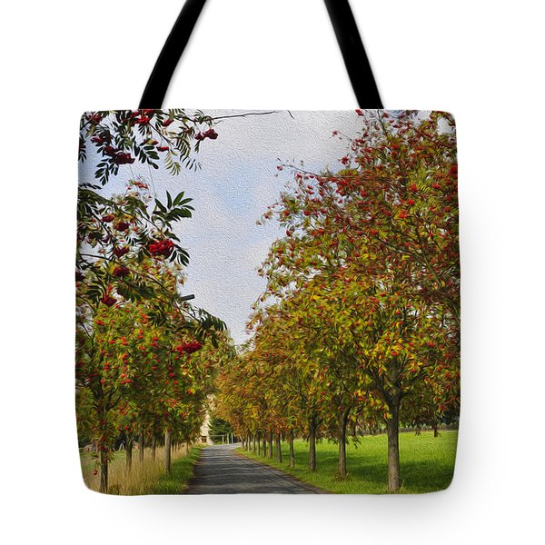 Summer Day In The Country Tote Bag by Aged Pixel