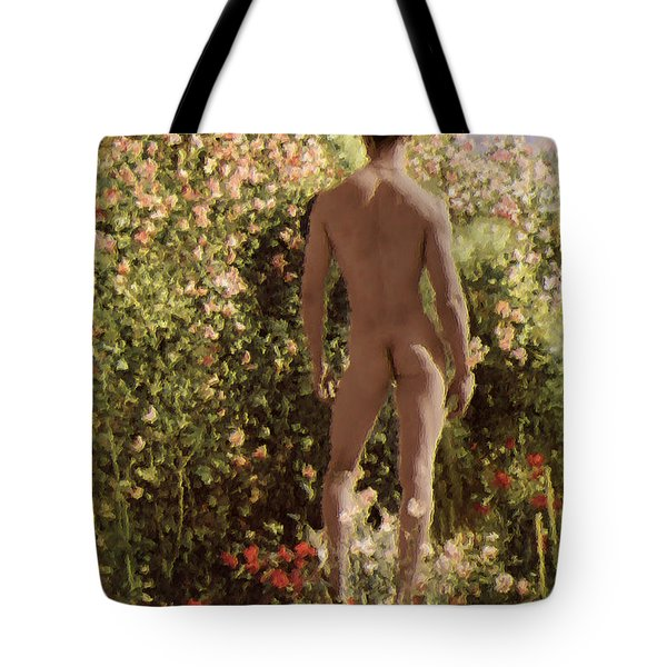 Summer Day In The Garden   Tote Bag